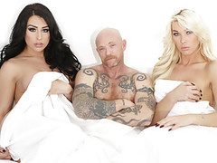 Trans icon buck angel fucks with two ts babes videos