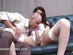 Hot shemale fucks and get fucked by lucky guy movies at find-best-hardcore.com