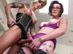 Nina lawless and river stark loves anal sex videos
