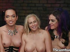 Threeway ts dominating ass and pussy videos