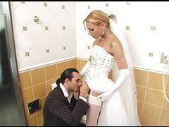 Shemale bride fucks best man before wedding videos