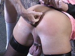 Cuffed, spanked & toyed videos