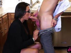 Smoking hot trans chick fucks horny dude in the ass movies