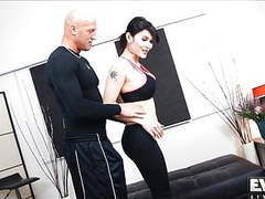 Eva lin gets her ass drilled by her trainer movies at find-best-videos.com