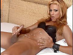Latin shemale cums very hard movies