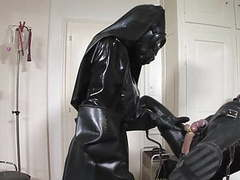 Horny heavy rubber treatment part 2 of 4 movies at find-best-lingerie.com