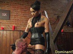 Busty inked ebony dom doggystyles sub videos