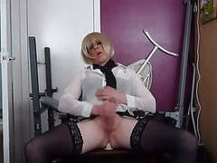 Sexy tranny cums movies