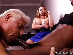Bisexual husband sucks black cock for femdom wife movies at find-best-babes.com