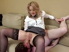 Lucky cuck gets to clean up movies at find-best-babes.com
