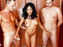 Anya ivy can't use his hubby's limp dick tubes