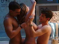 Ester exposito threesome compilation on scandalplanet.com videos