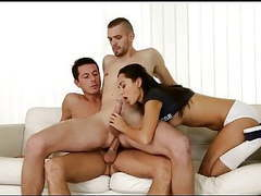 College 3some bi mmf videos