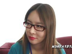 Korea1818.com - korean lady in spectacle glasses movies