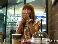 Korea1818.com - horny korean girlfriend filmed on date movies at freekilosex.com