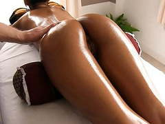 Gorgeous asian ass oiled and massaged videos