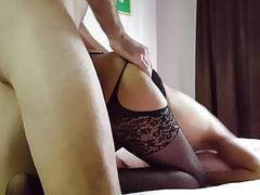 Thai slut in stockings fucked and creampied by white dick movies at find-best-ass.com