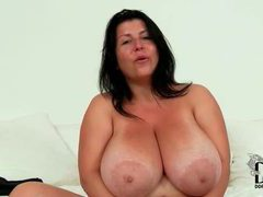 Fat girl with big sexy natural tits videos