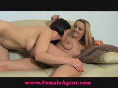 Femaleagent steamy casting movies at find-best-hardcore.com