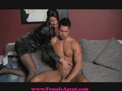 Femaleagent premature problems in casting movies at sgirls.net