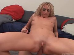His dick slides so easily in and out of her ass movies at freekilosex.com