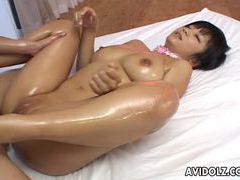 Nasty oiled up meguru kosaka hot double fuck movies at find-best-videos.com