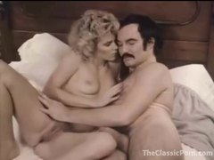 Man with a mustache bangs a hot blonde girl videos
