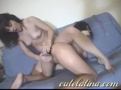 Bubble butt lesbian latinas using naughty toys movies at sgirls.net