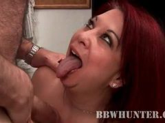 Fat redhead gives bj to an old guy videos