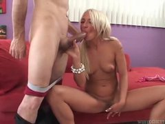Cute pigtailed blonde sucks old man cock movies at kilopills.com