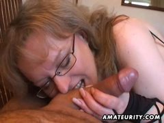 Busty amateur wife handjob and blowjob with cum in mouth movies at kilopics.net