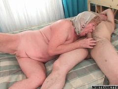 Horny older couple enjoy getting it on for the camera movies at sgirls.net