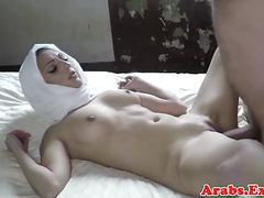 Cocksucking arab babe fucking and jerking videos