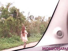 Japanese mature hitomi tanaka pounded outdoors tubes at lingerie-mania.com