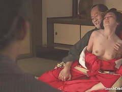 Yumi adachi - a courtesan with flowered skin tubes at japanese.sgirls.net