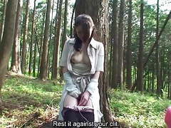 Subtitled uncensored japanese milf mana funaki in forest hd tubes at japanese.sgirls.net