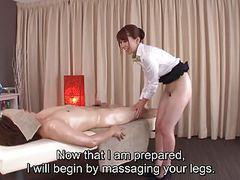Subtitled traditional japanese bottomless massage yui hatano tubes at lingerie-mania.com