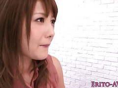 Beautiful japanese model mei aso facialized movies