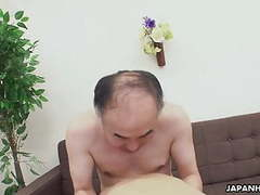 Asian sweet heart getting her pussy doggy styled tubes at japanese.sgirls.net