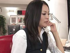 Hot young secretary gets her pussy played with movies at find-best-ass.com