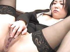 J15 japanese secretary fingers her pussy movies at sgirls.net