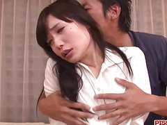 Strong blowjob and heavy sex with  tsukushi videos