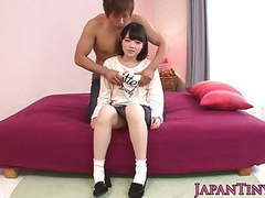 Petite busty japanese iori kanata facialized movies