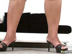 Chubby asian shakes her soft body movies at kilotop.com