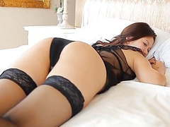 Softcore aisan lingerie stocking tease videos