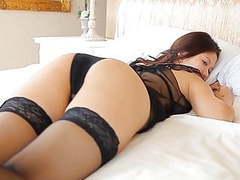Softcore aisan lingerie stocking tease tubes at japanese.sgirls.net