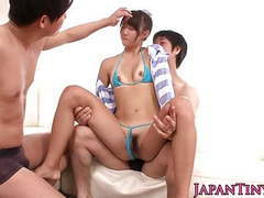 Squirting tiny japanese in bikini fucked hard videos