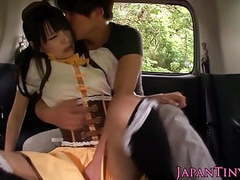 Nippon tiny babe sixtynining in the car videos