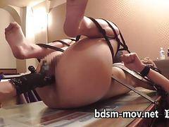 Maria eneme & anal fuckingmachine movies