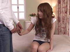 Rika aiba makes magic with sucking  - more at japanesemamas. tubes at japanese.sgirls.net
